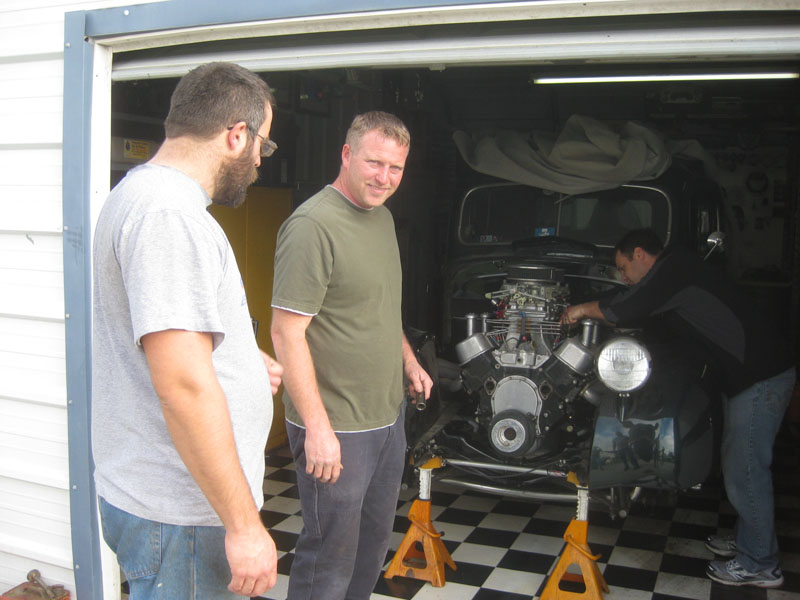Bryan's 1939 Ford Engine Pull
