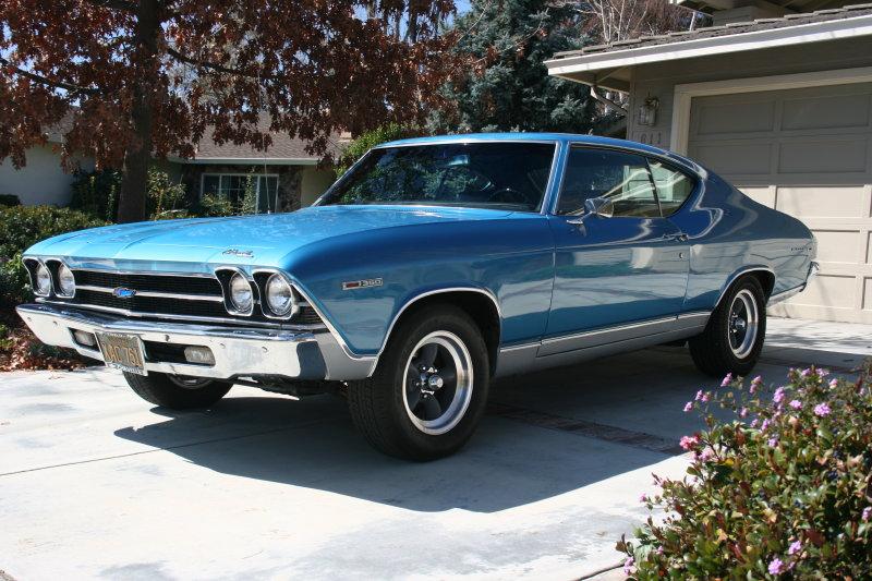 Dad's 1969 Chevrolet Chevelle Malibu
