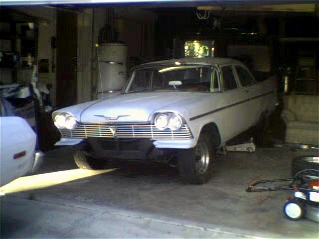 Doug's 1958 Plymouth