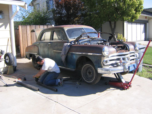 Greg's old 1950 Dodge Coronet