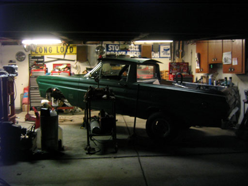 Greg's 1965 Ford Ranchero Gasser