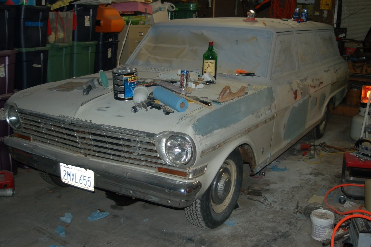 Matt's 1963 Chevy Nova Station Wagon