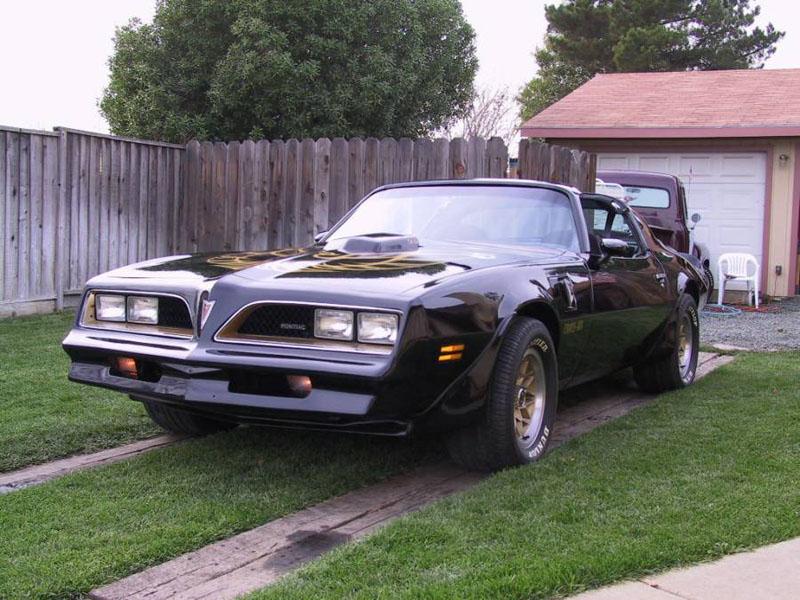 """Steve's Old 1978 Pontiac Trans Am """"Bandit T/A"""""""