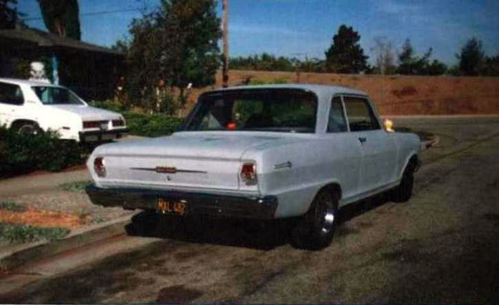 Steve's Old 1964 Chevy Nova