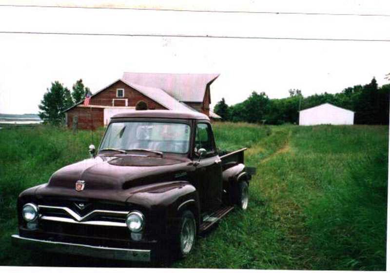 Steve's 1954 Ford F100 Pickup