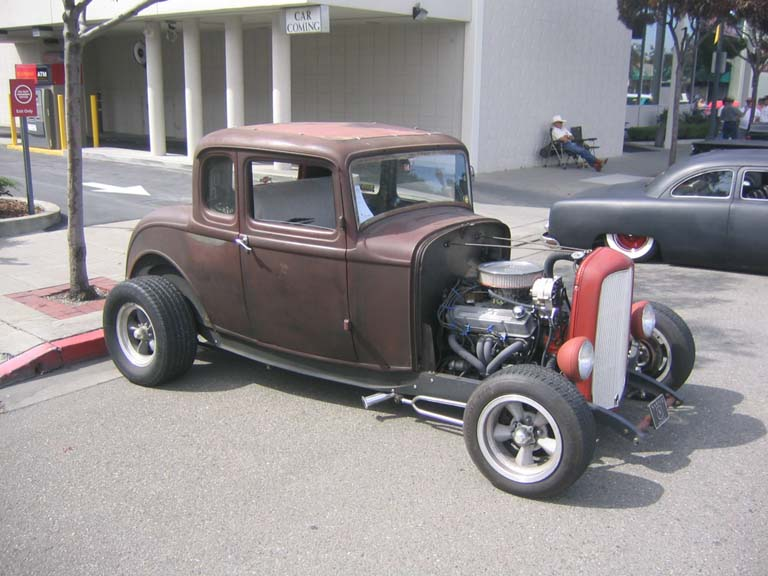 Winston's 1932 Ford Coupe at the Altamount Cruisers Show, 2005