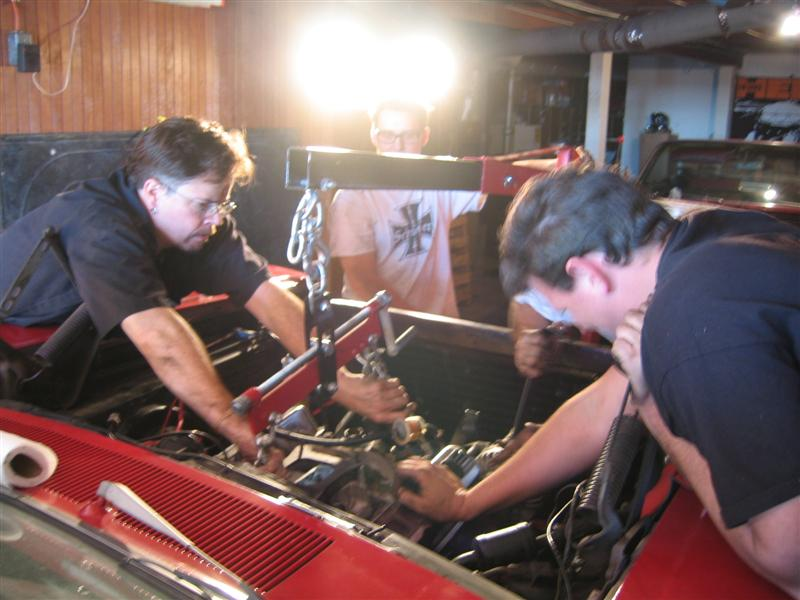 "Bill ""Flaming Death""'s Engine Swap-O-Rama"