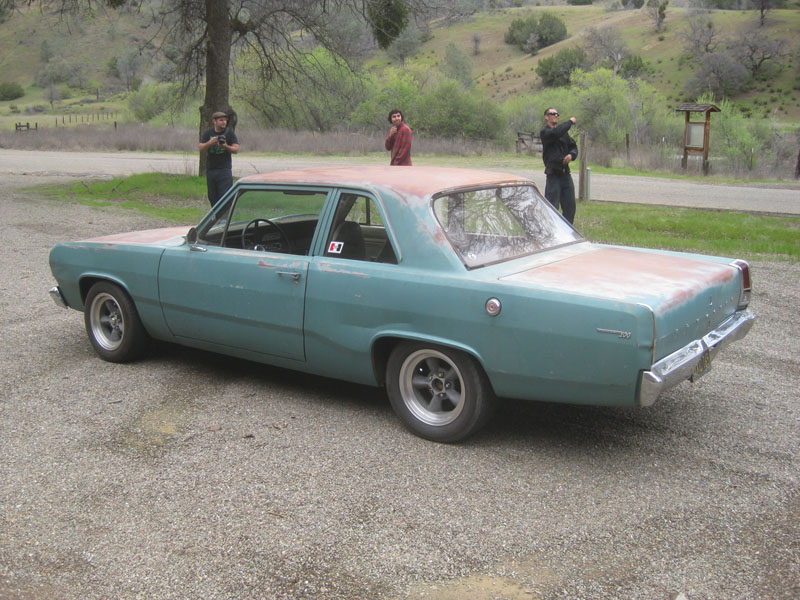 1967 Plymouth Valiant 100 coupe