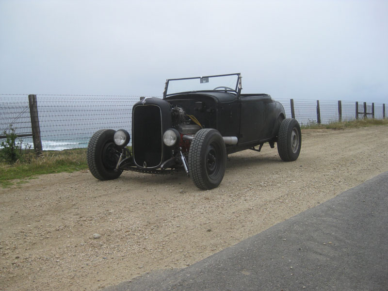 1931 Ford Model A Roadster Santa Maria West Coast Kustoms Car Show Road Trip