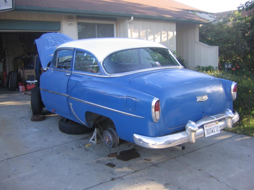 Dan's 1954 Chevy