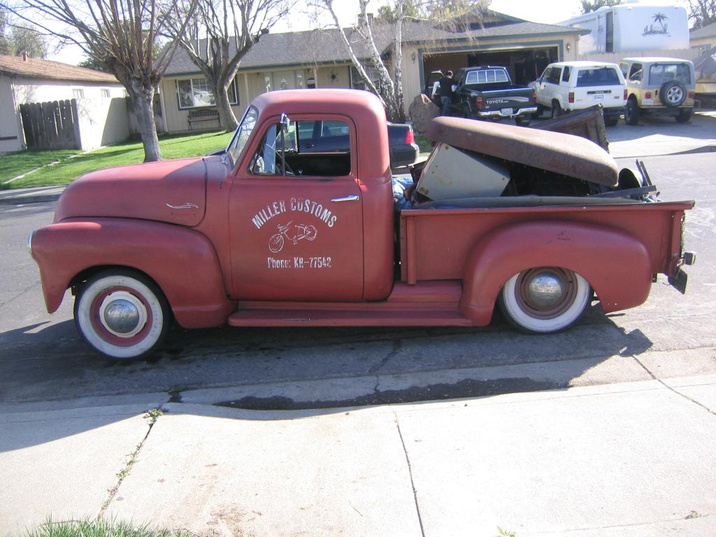 Jeremy's 1951 Chevy Truck