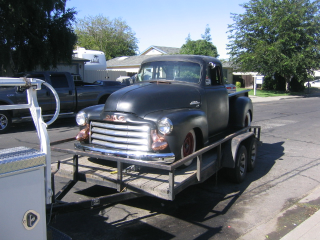 Justin's 1954 GMC Truck runs 12.40s at 122 MPH!!