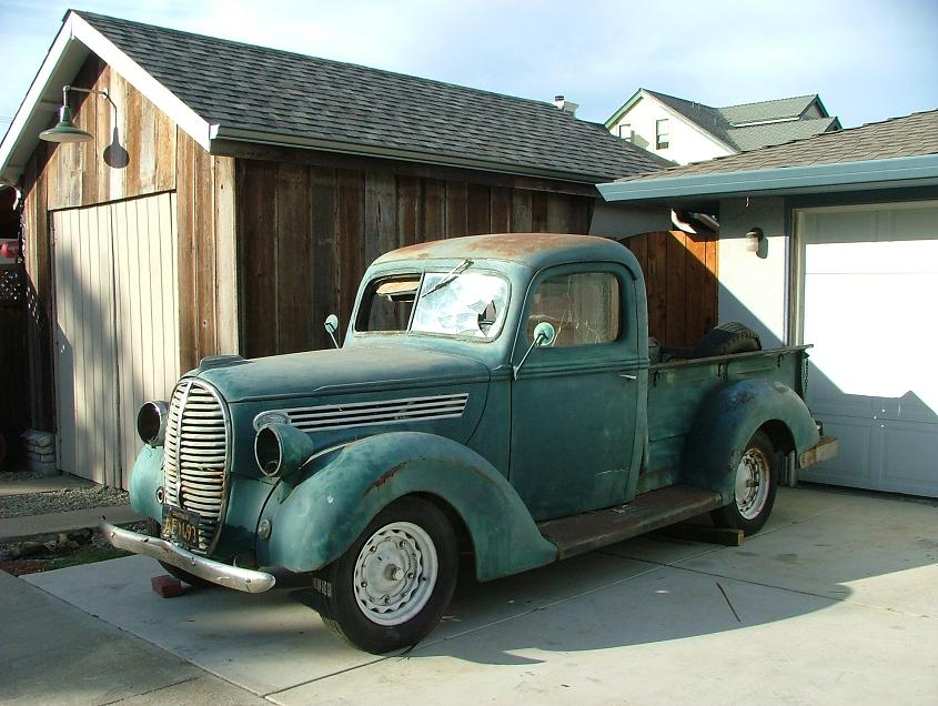Matt's Newest Addition:  1939 Ford 1/2 ton