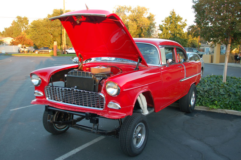 Al's 1955 Chevy Gasser