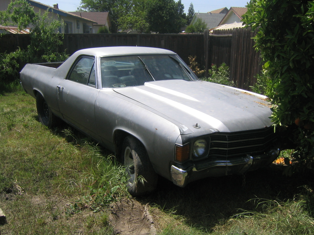 My old 1972 GMC Sprint SP 350
