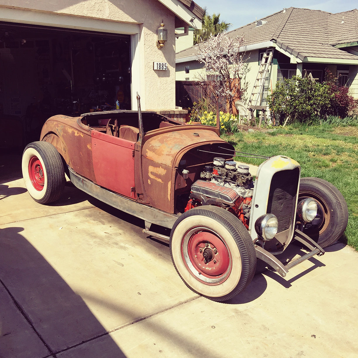 1929 Ford Hot Rod - hot rods and old cars - waywardgarage.com