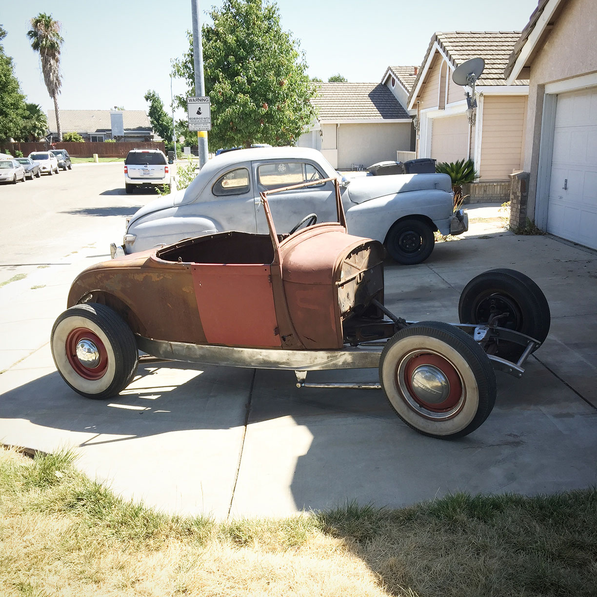 1929 Ford Hot Rod Model A 1932 Ford frame