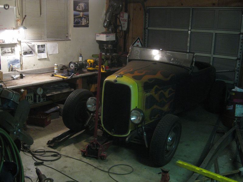Building a 1932 Ford frame, How to Hot Rod