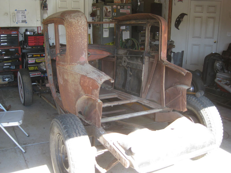 1930 Ford Model A Coupe Hot Rod Project