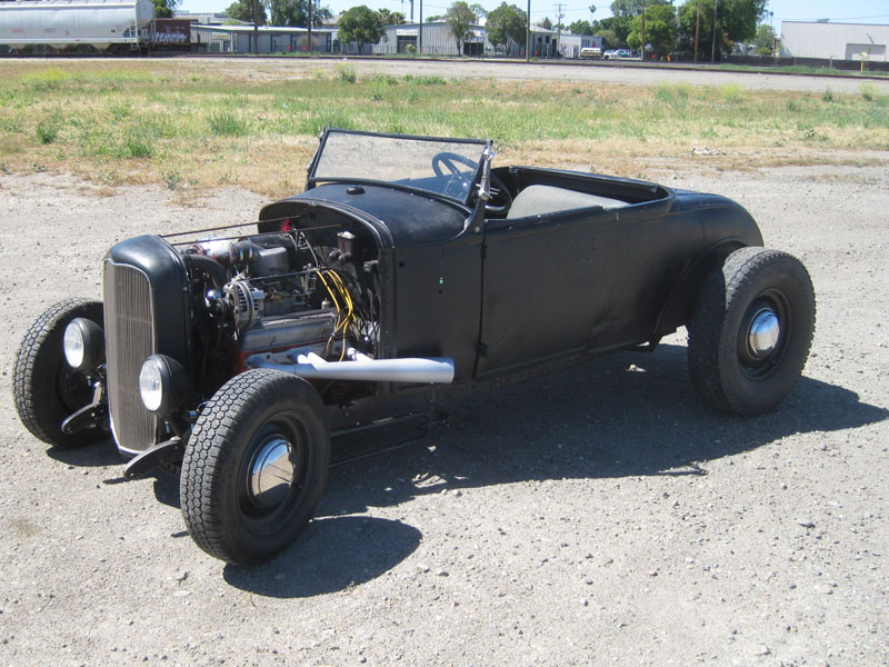 Very Loud, Somewhat Fast and Always Dirty – 1931 Ford Model A Roadster