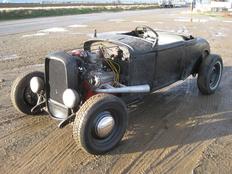 1931 Ford Model A Roadster McCulloch Supercharged