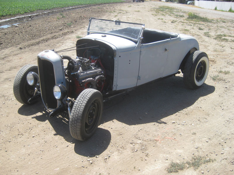 The Hot Rod's New Look - 1931 Ford Roadster