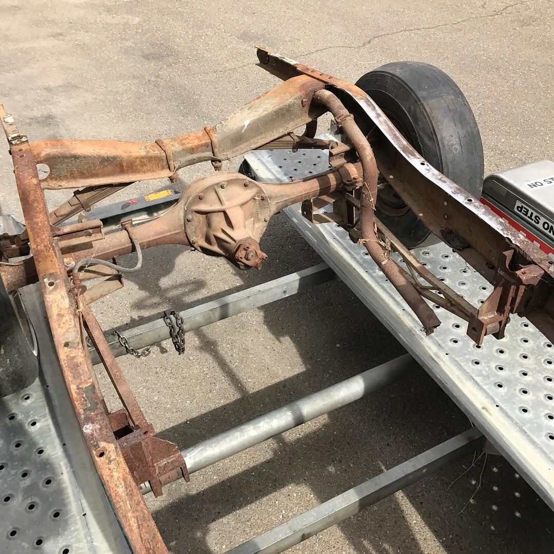 1932 Ford Hot Rod Deuce 32 Ford frame
