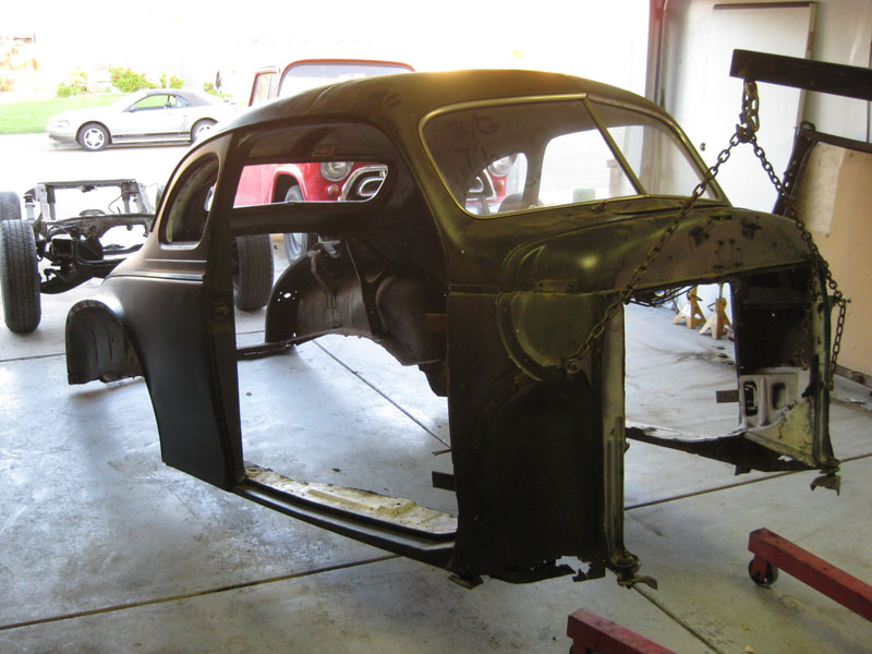 Off the Old, onto the New – Frame Swap 1940 Dodge