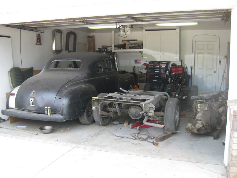 Moving Forward on the 1940 Dodge