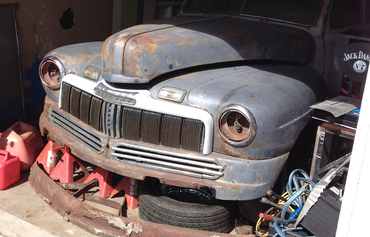 Fifty Shades of (primer) Gray – 1948 Mercury Coupe