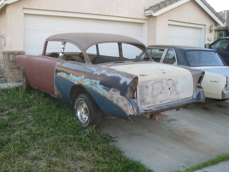 1956 Chevy two door sedan