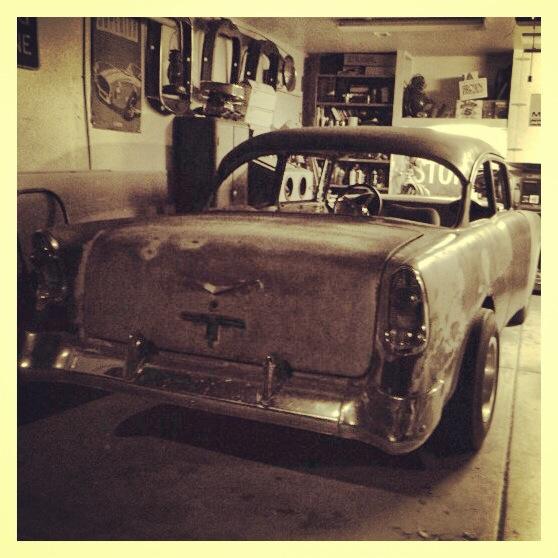 1956 Chevy 210 two door sedan beater gasser hot rod