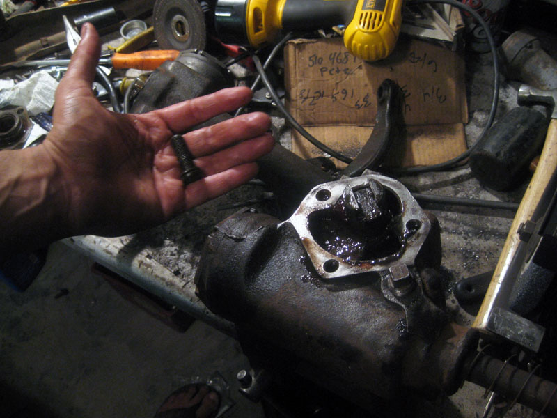 Steering Box surprise!  – 1956 Chevy 210