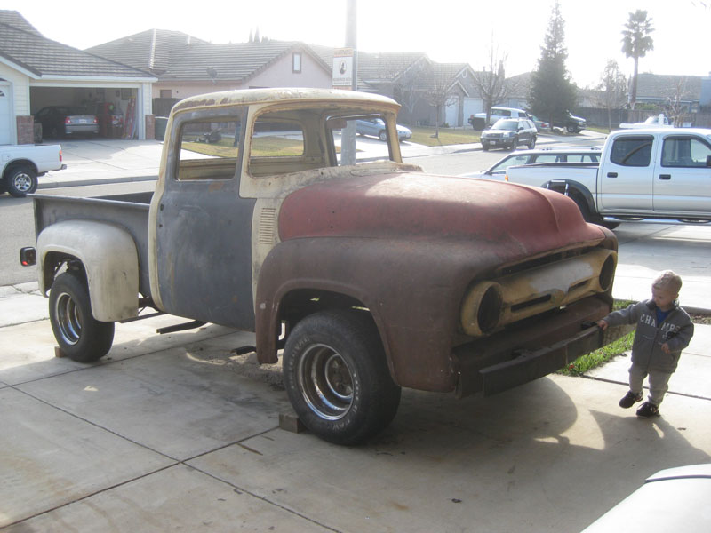 More than Parts, or How I scored a FREE 1956 Ford F-100