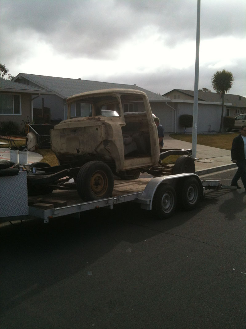 Saving a 1956 Ford F100