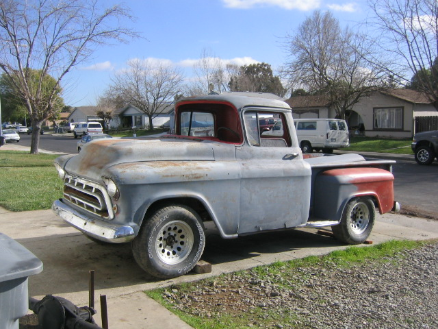 1957 chevy 3100 pickup truck. Black Bedroom Furniture Sets. Home Design Ideas