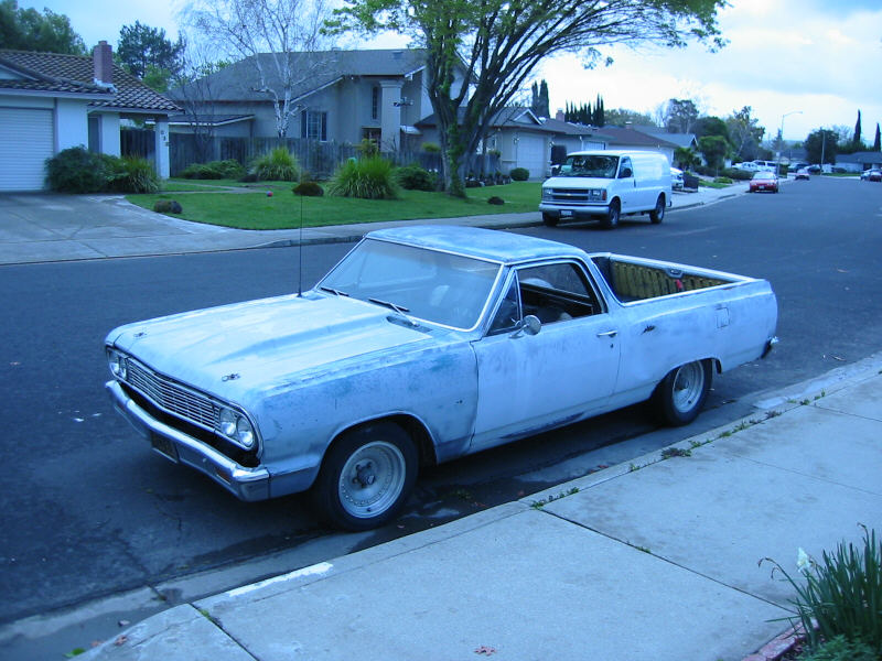 High-Performance Parts Hauler:  1964 Chevrolet El Camino