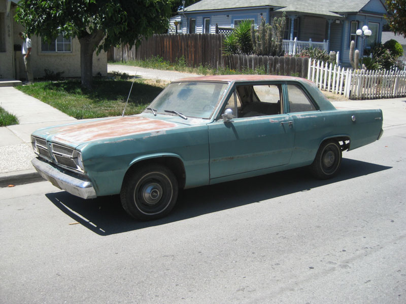 1967 Plymouth Valiant 100 two door coupe