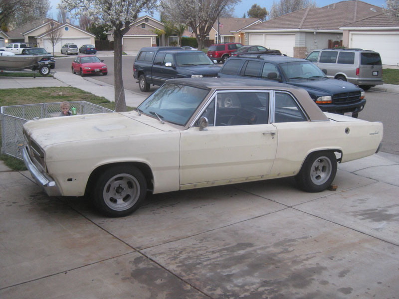 1967 Plymouth Valiant Signet Coupe Engine Swap