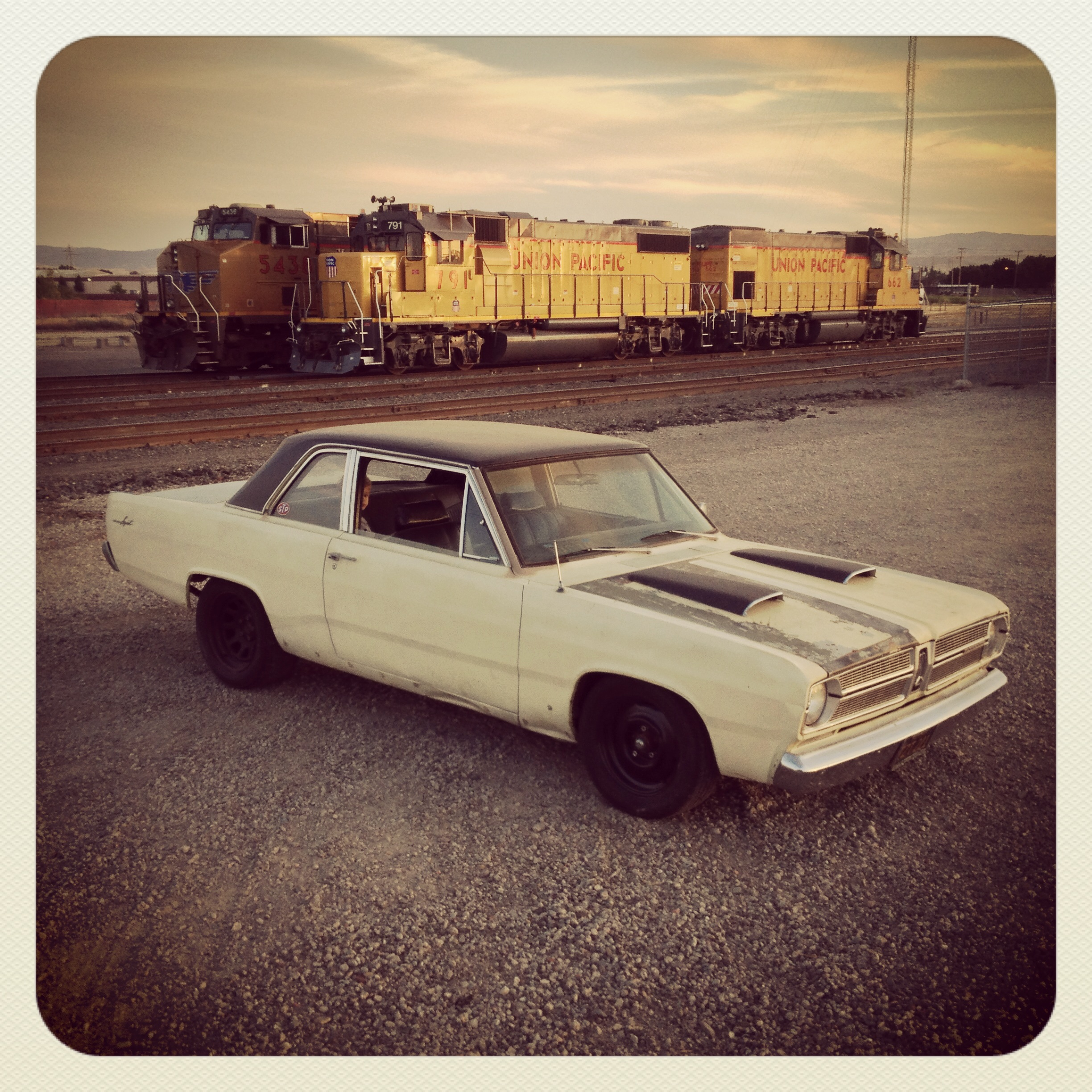 At the Trainyard – 1967 Plymouth Valiant Coupe