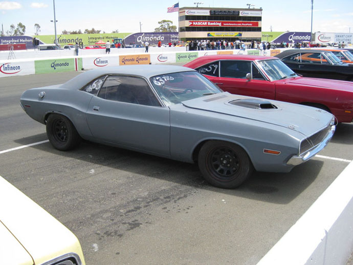 First Time Out!  Drag Racing my 1970 Dodge Challenger!