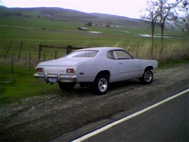 1975 Plymouth Duster #3, the Shackled Slant Six