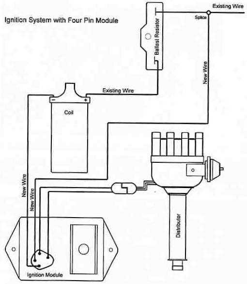 electronic ignition wiring diagram images